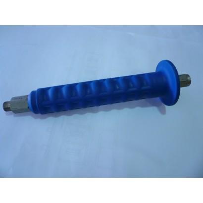 MANGO LANZA SABLE 700MM INOX AZUL 1/4 M -1/4 H