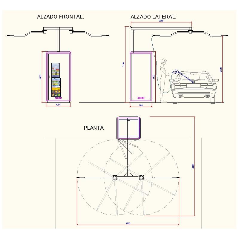 Armario K1 Caldera Eléctrica