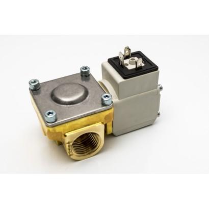 """ELECTROVALVULA SMC - 1/2""""-2V-NC LATON - CON BOBINA 24VDC-4,5W"""