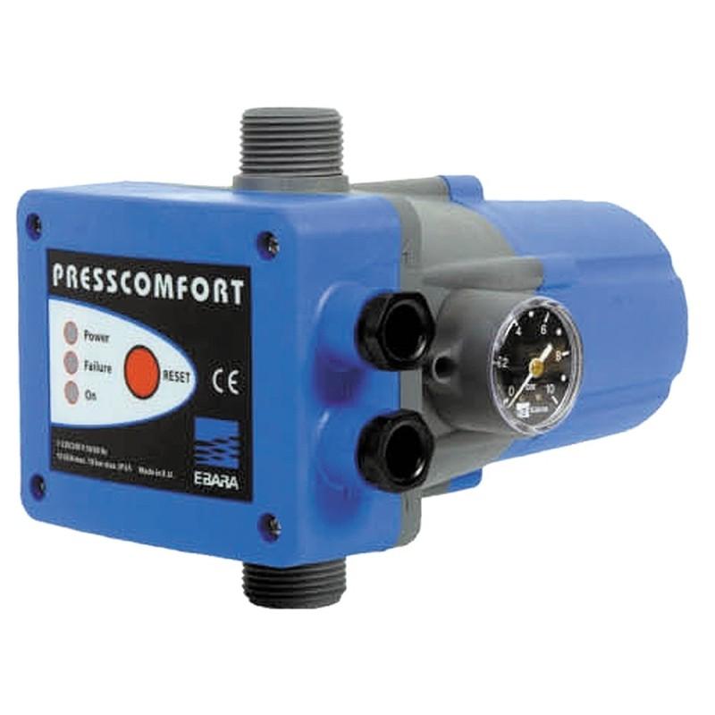 PRESSCOMFORT 1.5BAR SIN REG, CON CABLES -230V-50HZ 10A