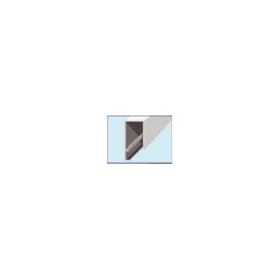 PERFIL ALUMINIO SUPERIOR Y LATERAL PARA PLACAS DE 20MM (X METRO)